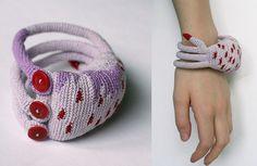 lavender octopus cuff | Flickr - Photo Sharing!
