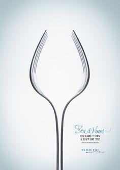 Cool poster for McLaren Vale Food & Wine Festival!
