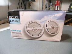 Sony XSMP1611 6.5-Inch Dual Cone Marine Speakers #Sony