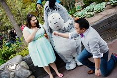Calvin and Davina had their Disneyland Engagement Photos sprinkled with nods to winnie the pooh and vintage classics Disneyland Proposal, Disneyland Engagement Photos, Rabbit Photos, Vintage Classics, Photo Ideas, Boutique, Fashion, Moda, Fashion Styles