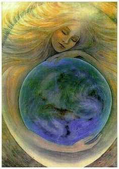 Gaia. Greek mythology's mother earth. Mother of Cronus and grandmother of Zeus . The great mother of all: the gods, titans, giants, and the oceans.