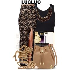 LucLuc by trill-forlife on Polyvore featuring beauty, STELLA McCARTNEY, Skinnydip, Oasis, Vince Camuto, SELECTED and Ancient Greek Sandals
