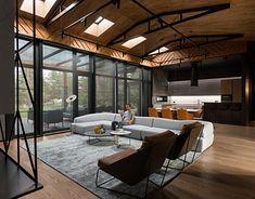 Home Interior Design, Interior Architecture, Living Place, Wooden Ceilings, Interior Photography, Design Case, Guest Bedrooms, Apartment Design, Duplex Apartment