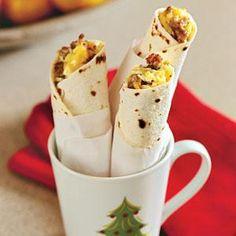 Breakfast Burritos!