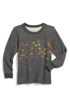 'Star' Sweatshirt (Toddler Girls, Little Girls & Big Girls)