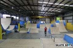 outdoor skate parks in ottawa Skateboard Ramps, Skate Park, Bunker, Ottawa, Indoor, Warehouse, Places, Interior, Layouts