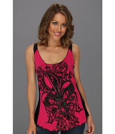 rock and roll tank tops   Rock and Roll Cowgirl Fleur De Lis Tank Top - Zappos.com Free Shipping ...