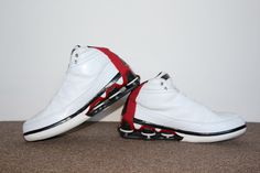 Nike Shox Vince Carter IV 2004 (White/Black – Varsity Red)