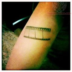 Camera Film Cinema Tattoo