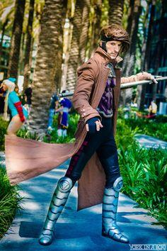 Gambit #Cosplay by Michael Huffman. #YorkInABox #WonderCon 2015