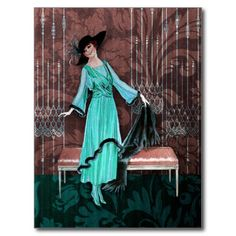>>>The best place          1913 LUXE: VINTAGE FASHION in Aqua and Rose Post Cards           1913 LUXE: VINTAGE FASHION in Aqua and Rose Post Cards in each seller & make purchase online for cheap. Choose the best price and best promotion as you thing Secure Checkout you can trust Buy bestReview...Cleck Hot Deals >>> http://www.zazzle.com/1913_luxe_vintage_fashion_in_aqua_and_rose_postcard-239116712827937029?rf=238627982471231924&zbar=1&tc=terrest