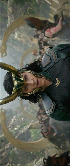 Loki in Thor Ragnarok.
