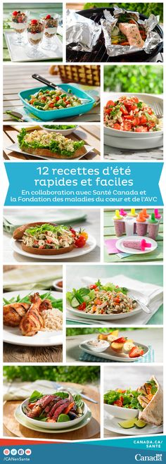 Saumon, pilons de poulet BBQ, salades, yogourt glacé, crêpes aux fraises et bien d'autres. Vous allez adorer toutes ces idées de recettes d'été appétissantes : http://www.canadiensensante.gc.ca/eating-nutrition/healthy-eating-saine-alimentation/tips-conseils/recipes-recettes/index-fra.php#ete?utm_source=pinterest_hcdns&utm_medium=social_fr&utm_content=aug28_bbq16&utm_campaign=social_media_15