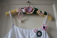 what to make with crochet flowers