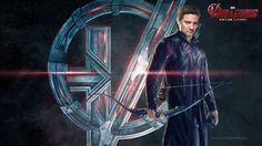 "NEW ""Avengers: Age of Ultron"" Character Posters: Hawkeye"