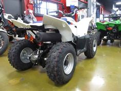 New 2016 Suzuki QuadSport Z90 ATVs For Sale in California. 2016 Suzuki QuadSport Z90, 2016 Suzuki QuadSport Z90 The Z90 is the ideal ATV for young riders to learn on. Convenient features like the automatic transmission and electric starter help make this ATV suitable for supervised riders ages 12 and up. Get your little ones started on the Quadsport Z90 so your whole family can experience Suzuki's Way of Life! Features may include: Child-size (Y-12) controls for easy operation Easy electric…