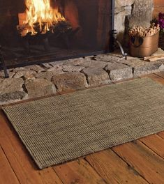 57 Best Fireplaces Rugs Images