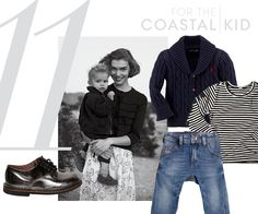 Clockwise from left:Pèpè laminated-effect leather lace-up, from $192lusiaviaroma.com Ralph Lauren cotton cabled shawl cardigan, $45ralphlauren.comGoat-Milk striped top, $38goatmilknyc.comDiesel Kid stretch-denim baggy jean, $99luisaviaroma.com -