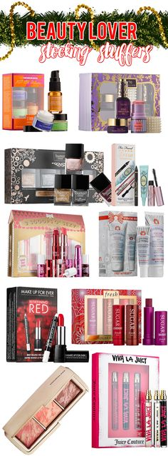 Beauty Lover Stocking Stuffers | 10 Fabulous Ideas for the beauty lover in your life!