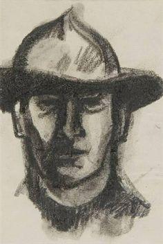 John Duncan Fergusson, Self portrait