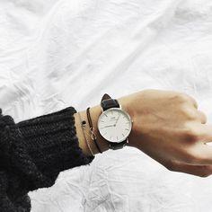 daniel wellington + infinity bracelet