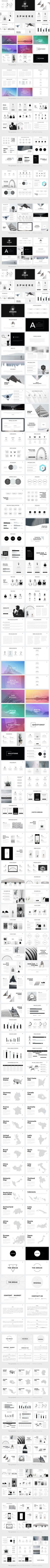 Resume Google Slide Template    Presentation Templates