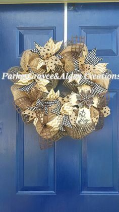 Check out this item in my Etsy shop https://www.etsy.com/listing/465566141/wreath-with-cross-cross-wreath-beige-amd