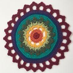 Michele's Crochet Mandala for Wink