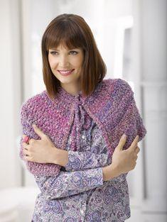 Ravelry: Charlotte Bronte Cape pattern by Lion Brand Yarn Crochet Lion, Crochet Cape, Crochet Jacket, Knit Or Crochet, Crochet Scarves, Crochet Clothes, Free Crochet, Crochet Shrugs, Crochet Vests