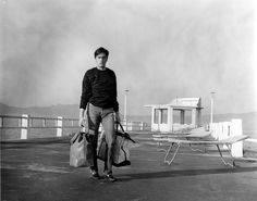 Alain Delon in Any Number Can Win.
