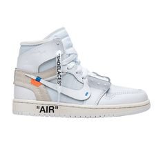 the best attitude a6855 8a5d8 The OFF-WHITE x Air Jordan 1 Retro High OG BG  White  2018