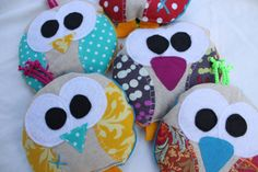 boo boo bag, ouchie, owie ice pack, Bird, bridie, owl, party favor, wholesale, cold pack, heat pack. $9.00, via Etsy. -