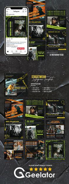 Social Media Banner, Social Media Graphics, Instagram Design, Instagram Feed, Banner Design Inspiration, Army Post, Poster Background Design, Change Image, Instagram Fashion