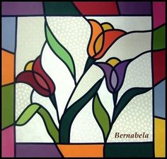 Colorful Tulip Panel