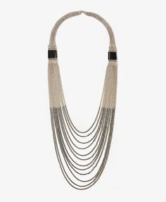 Beaded Chains Necklace   FOREVER21 - 1000048781