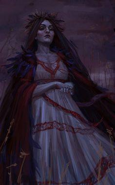 Morana - I like her, she is my favourite Slavic godness :)