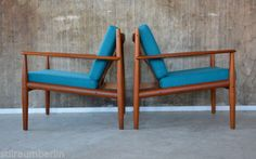 1-2-60er-Grete-Jalk-teck-fauteuil-France-son-60s-Easy-Chair-Danish-Modern-CADO