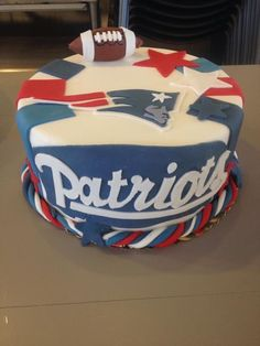 Patriots Cake Edible Plaque Walmart Grocery Stores