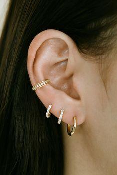 Conch Piercing Jewelry, Ear Jewelry, Cartilage Earrings, Cute Jewelry, Women's Earrings, Inner Conch Piercing, Cartilage Hoop, Jewlery, Triple Lobe Piercing