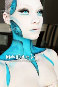 1000+ Ideas About Robot Makeup On Pinterest