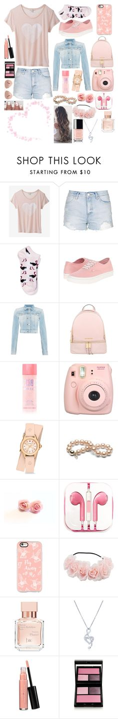 """""""Special"""" by karressguidycapers ❤ liked on Polyvore featuring Express, Topshop, Vans, Replay, MICHAEL Michael Kors, Fujifilm, Michele, PhunkeeTree, Casetify and Maison Francis Kurkdjian"""