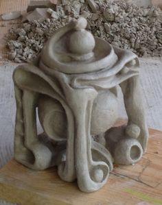 CHUCK FINK 2012 whimsy box raw clay