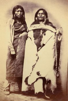 Two Pah-Ute Indians 1869