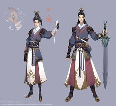 on Behance Fantasy Character Design, Character Design Inspiration, Character Concept, Character Art, Simple Character, Mode Kimono, Japanese Characters, Samurai Art, Illustration Girl