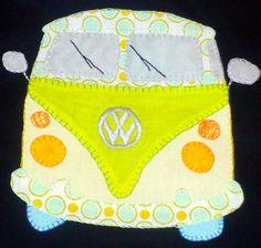 camiseta  patchwork furgo volkswagen  www.facebook.PatchBornay.com