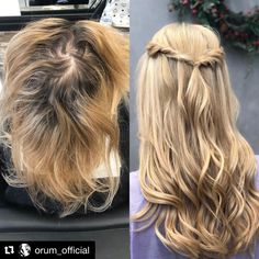 #exteforme #tapeinextensions #keratin #flat #rings #weft #russian #hair #55 #colors #eurosocap #by #seiseta #greece #top #quality #hairstyle #hairextensions #hairlove #extensionspecialis #beforeandafter #models #Indian #hairstylesforwomen #haircolor Tape In Hair Extensions, Spring Hairstyles, Keratin, Haircolor, Long Hair Styles, Greece, Singing, Corner, Birds