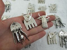 Silverware charms
