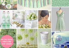 #mint #wedding