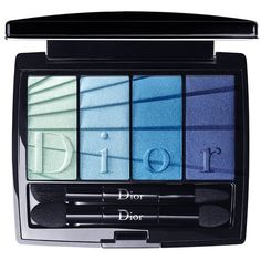 DIOR Colour Gradation 4 Colours Eyeshadow Palette (34.305 CLP) ❤ liked on Polyvore featuring beauty products, makeup, eye makeup, eyeshadow, beauty, christian dior eye shadow, christian dior, palette eyeshadow and christian dior eyeshadow