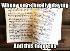 15 memes you'll only understand if you're in the hell of practising your instrument - 15 memes you'll only understand if you're in the hell of practising your instrument finally playing and this happens meme Funny Band Memes, Marching Band Memes, Band Jokes, Piano Memes, Musician Memes, Orchestra Problems, Orchestra Humor, Music Jokes, Funny Music